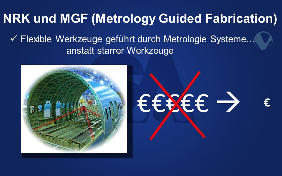 NRK und MGF (Metrology Guided Fabrication)