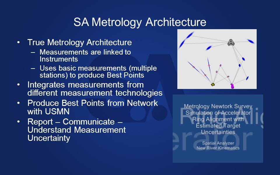 SA Metrology Architecture