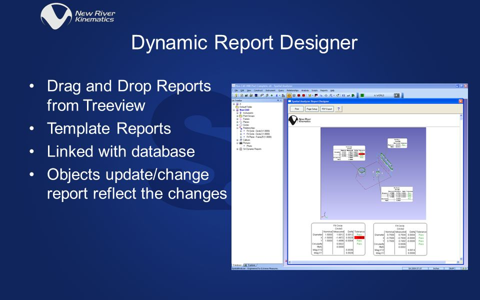 Dynamic Report Designer