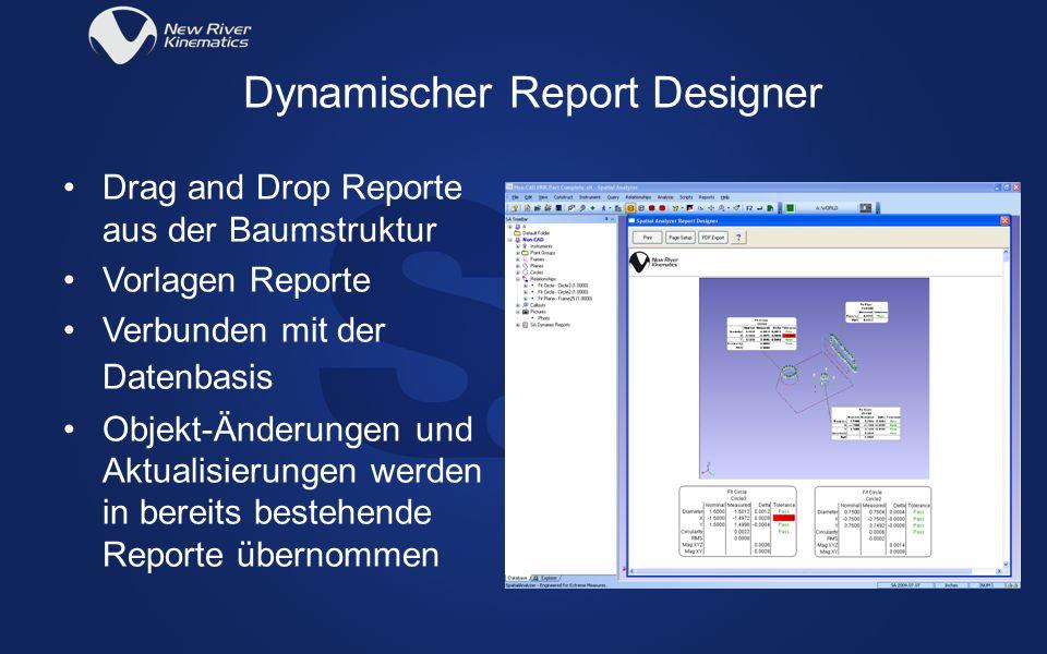 Dynamischer Report Designer