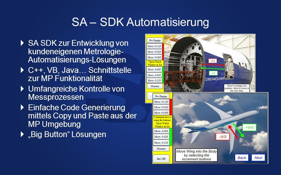 SA – SDK Automatisierung