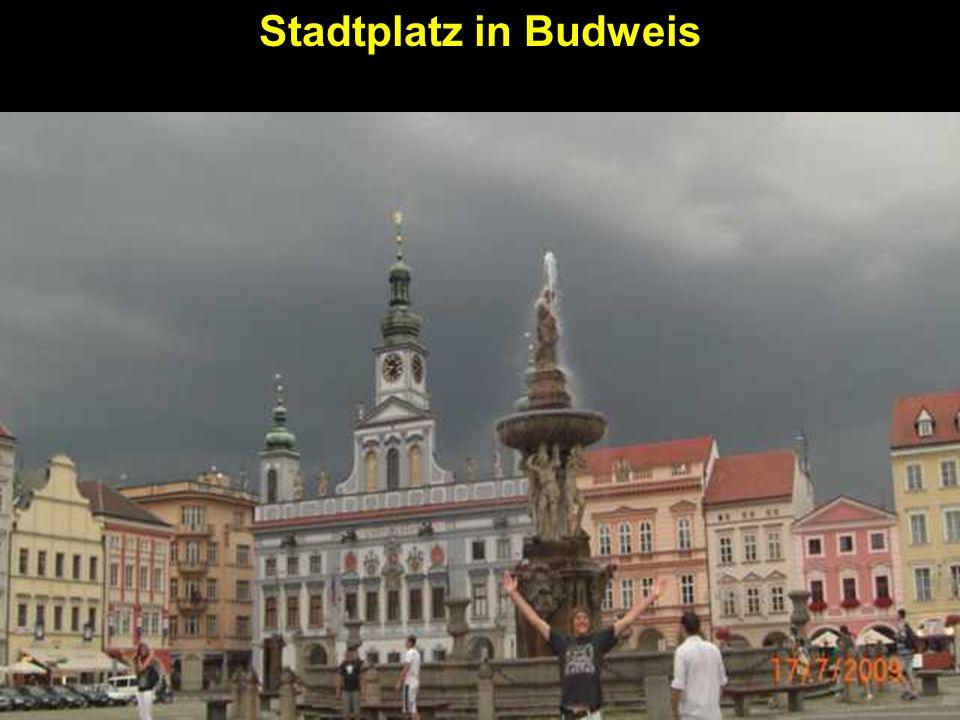 Stadtplatz in Budweis