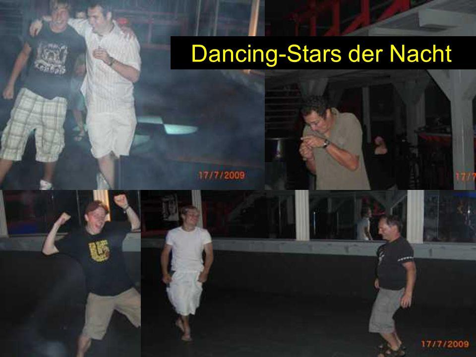 Dancing-Stars der Nacht