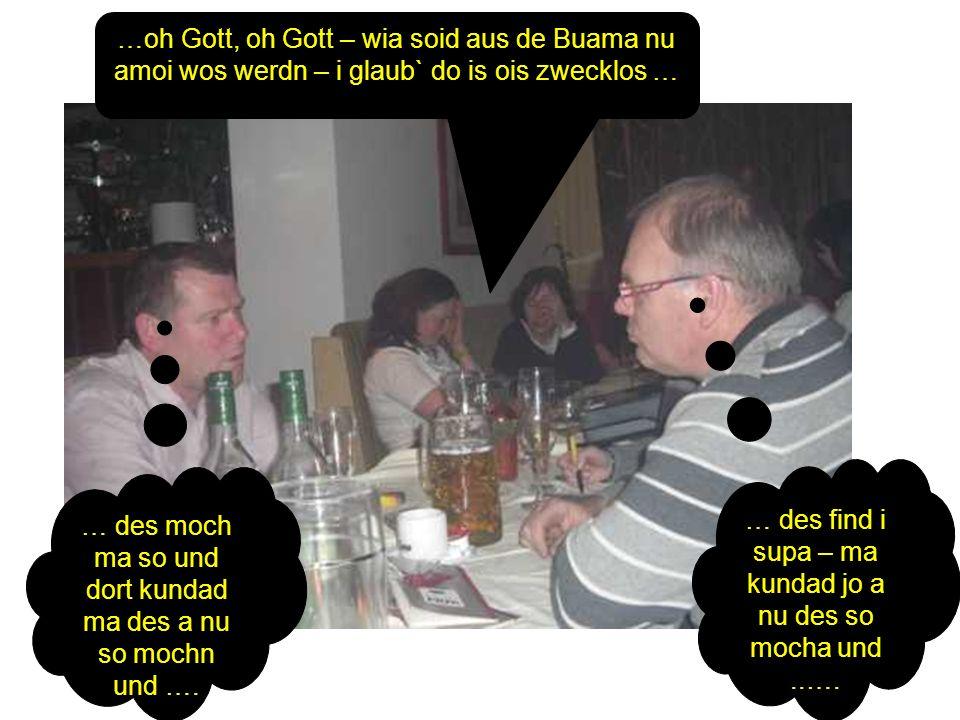 … des find i supa – ma kundad jo a nu des so mocha und ..….
