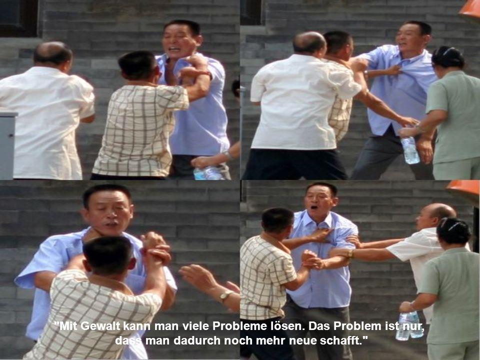 Mit Gewalt kann man viele Probleme lösen. Das Problem ist nur,