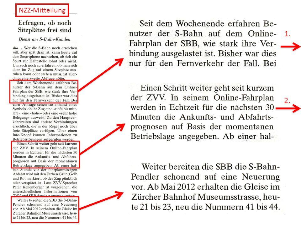 NZZ-Mitteilung 1. 2.