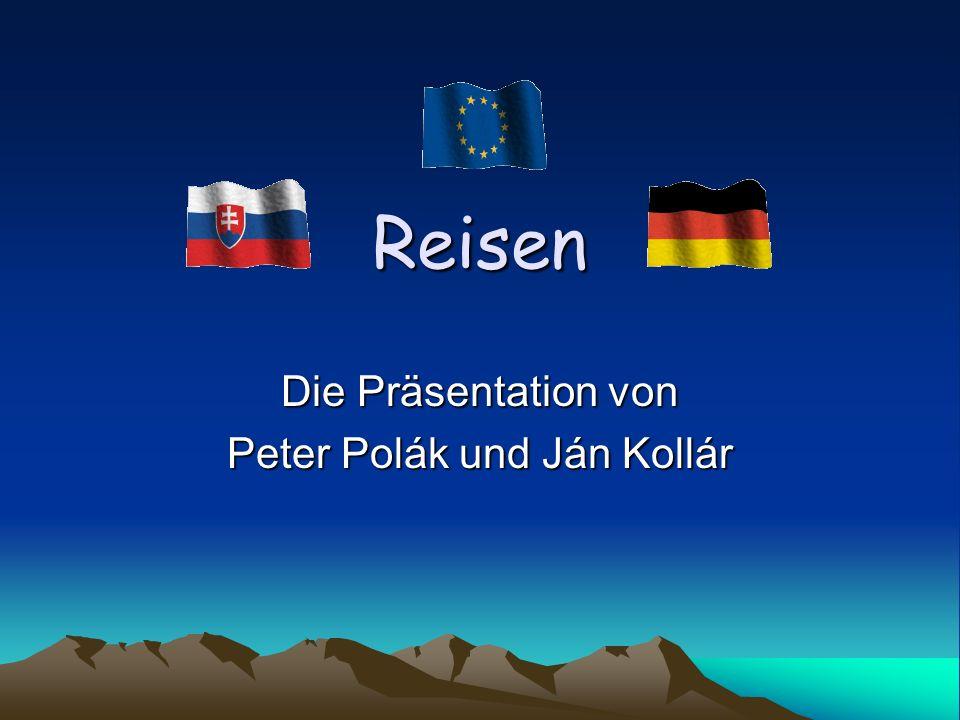 Die Präsentation von Peter Polák und Ján Kollár
