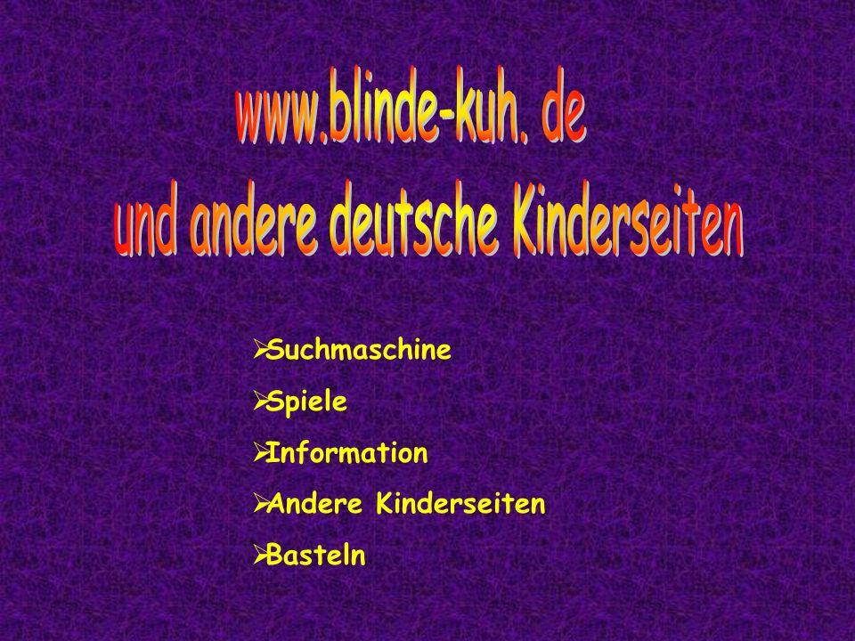 und andere deutsche Kinderseiten