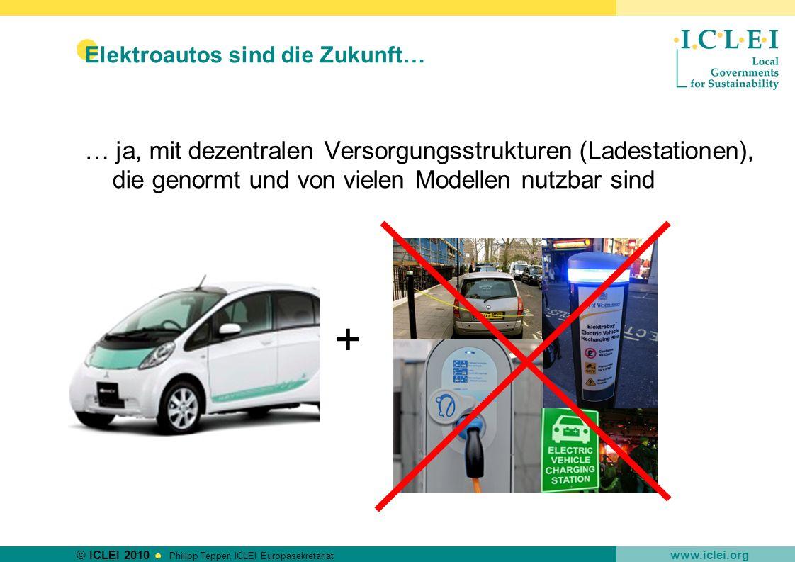 Elektroautos sind die Zukunft…