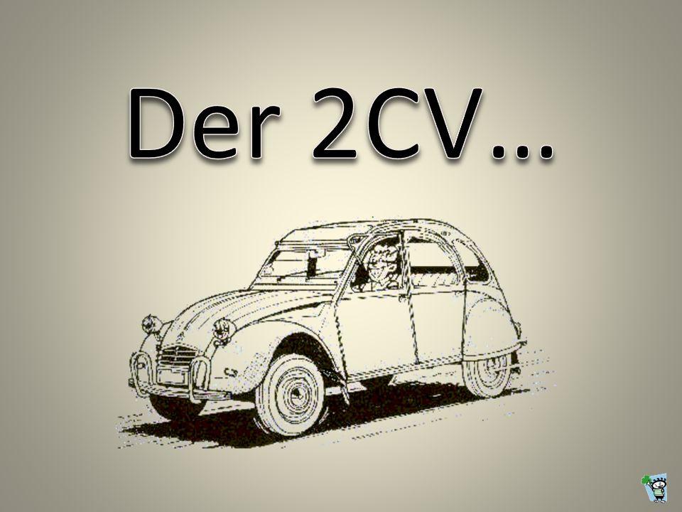 Der 2CV…