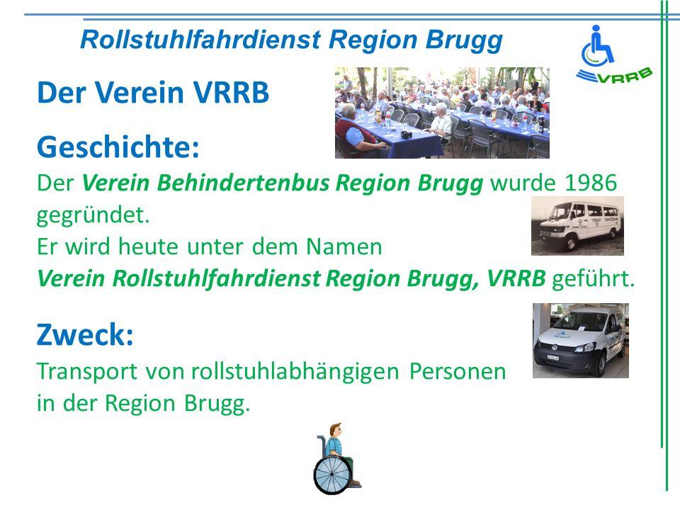 Der Verein VRRB Geschichte: Rollstuhlfahrdienst Region Brugg