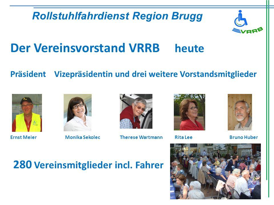 Der Vereinsvorstand VRRB heute