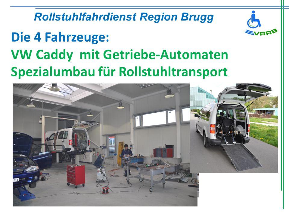 VW Caddy mit Getriebe-Automaten Spezialumbau für Rollstuhltransport