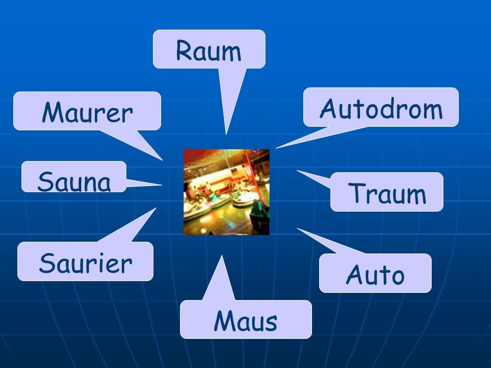 Raum Autodrom Maurer Sauna Traum Saurier Auto Maus