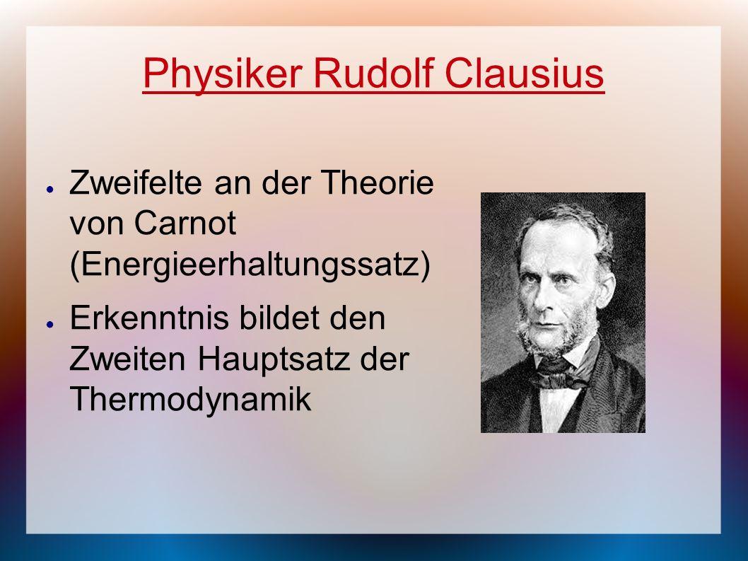 Physiker Rudolf Clausius
