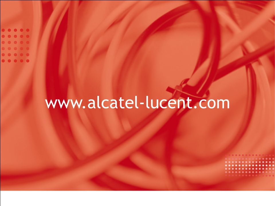 www.alcatel-lucent.com