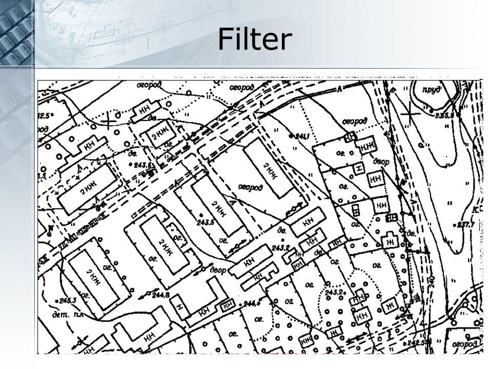 Filter Filter für monochrome Zeichnungen. Fleckenentferner Invertieren