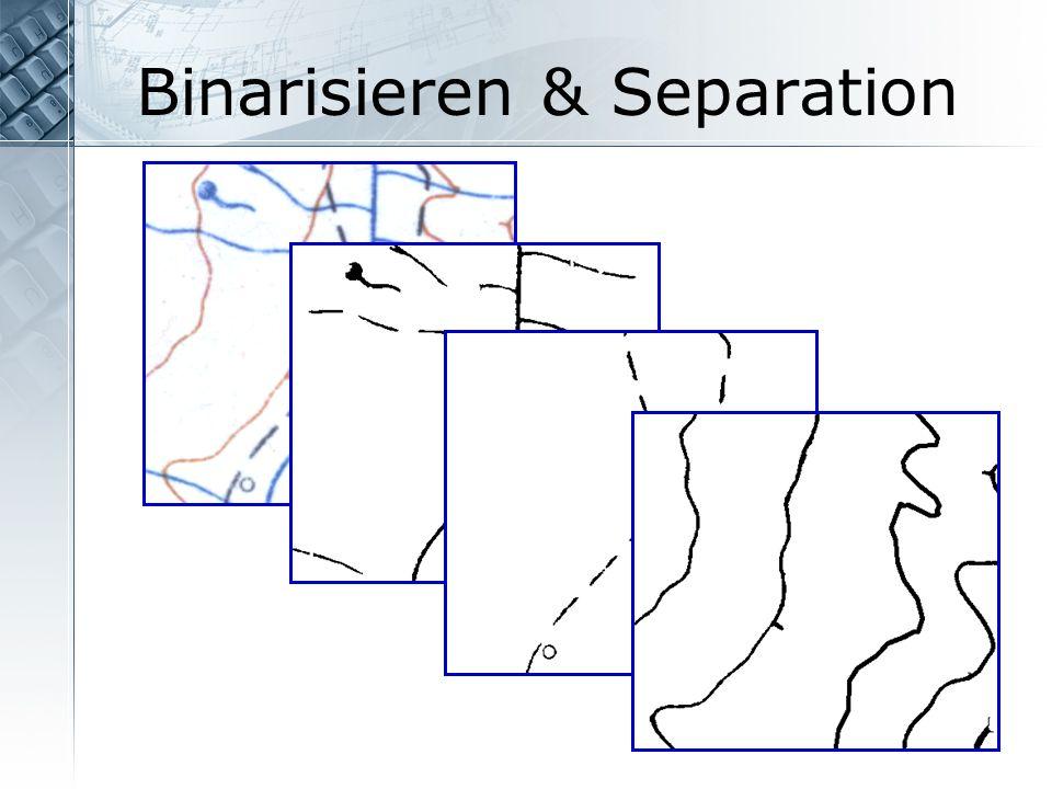 Binarisieren & Separation