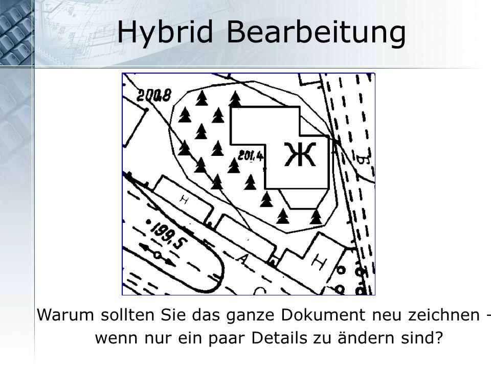 Hybrid Bearbeitung Warum sollten Sie das ganze Dokument neu zeichnen –