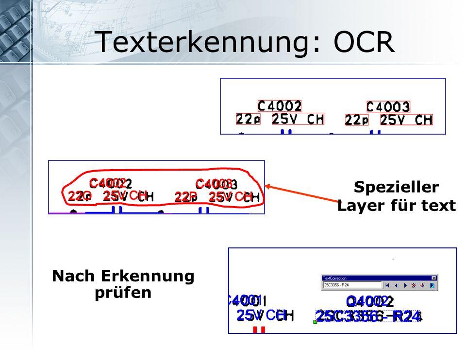 Spezieller Layer für text