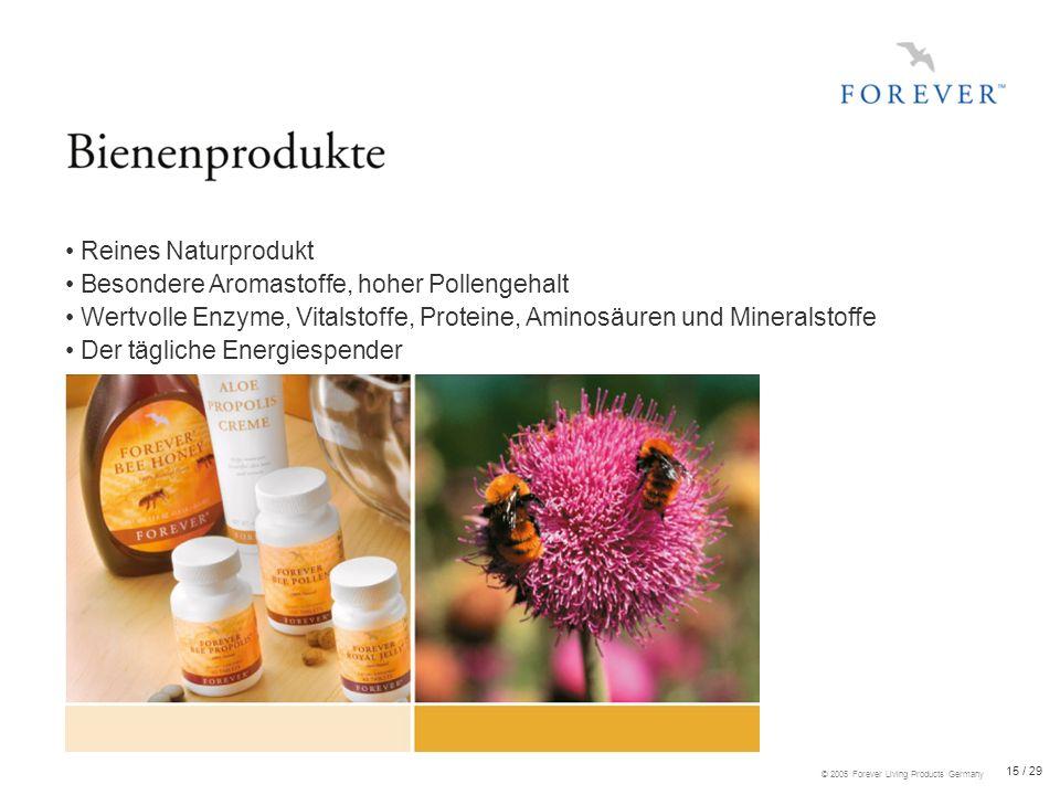 • Reines Naturprodukt • Besondere Aromastoffe, hoher Pollengehalt. • Wertvolle Enzyme, Vitalstoffe, Proteine, Aminosäuren und Mineralstoffe.