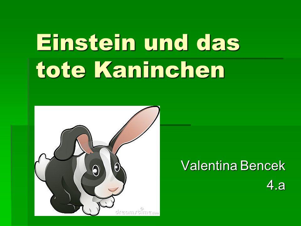 Einstein und das tote Kaninchen