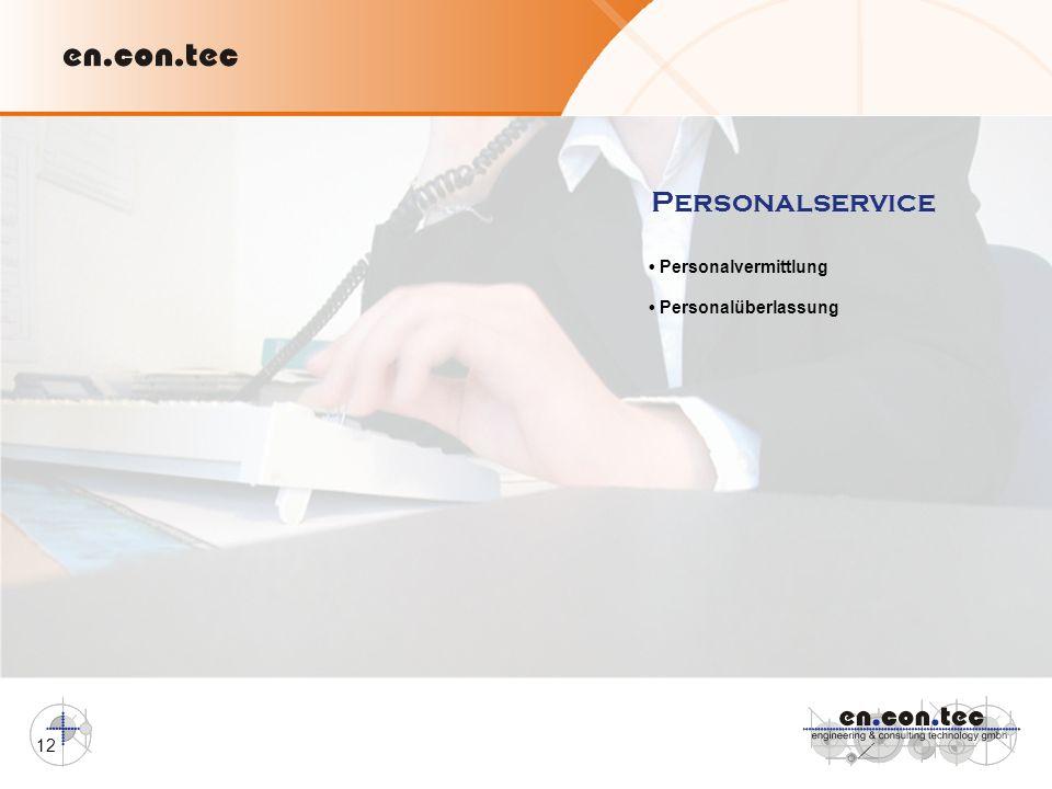 Personalservice • Personalvermittlung • Personalüberlassung