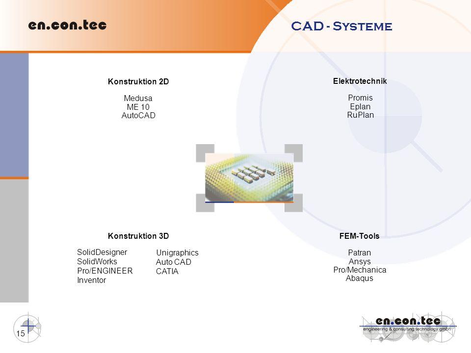 CAD - Systeme Konstruktion 2D Elektrotechnik Medusa Promis ME 10 Eplan