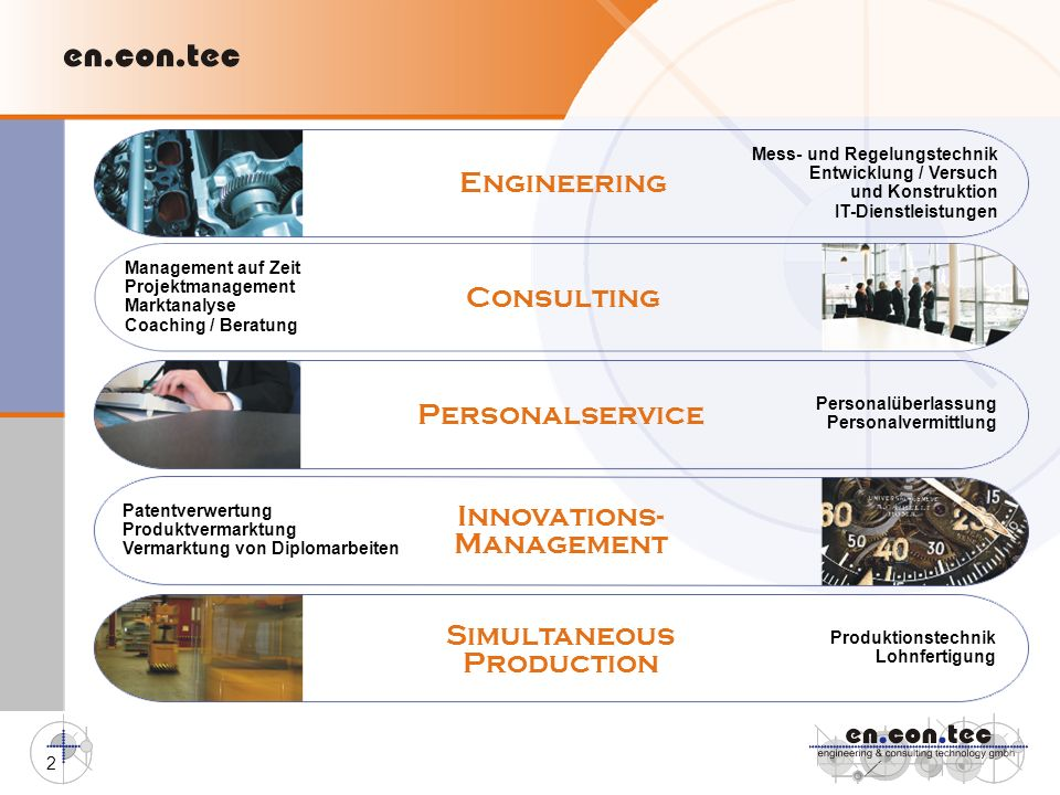 Engineering Consulting Personalservice Innovations- Management