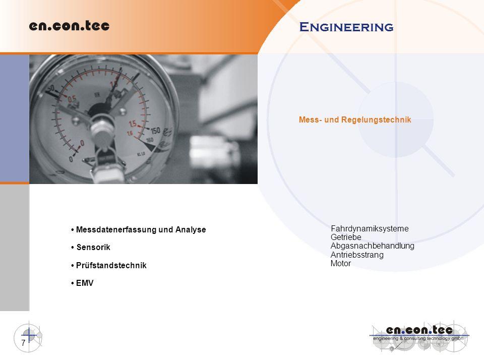 Engineering Mess- und Regelungstechnik