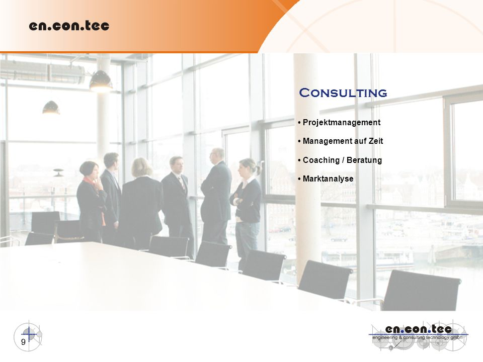 Consulting • Projektmanagement • Management auf Zeit
