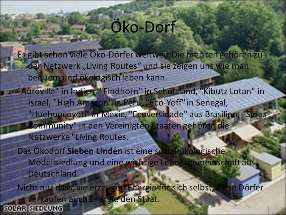 Öko-Dorf