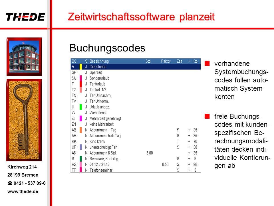 Buchungscodes vorhandene Systembuchungs-codes füllen auto-matisch System-konten.