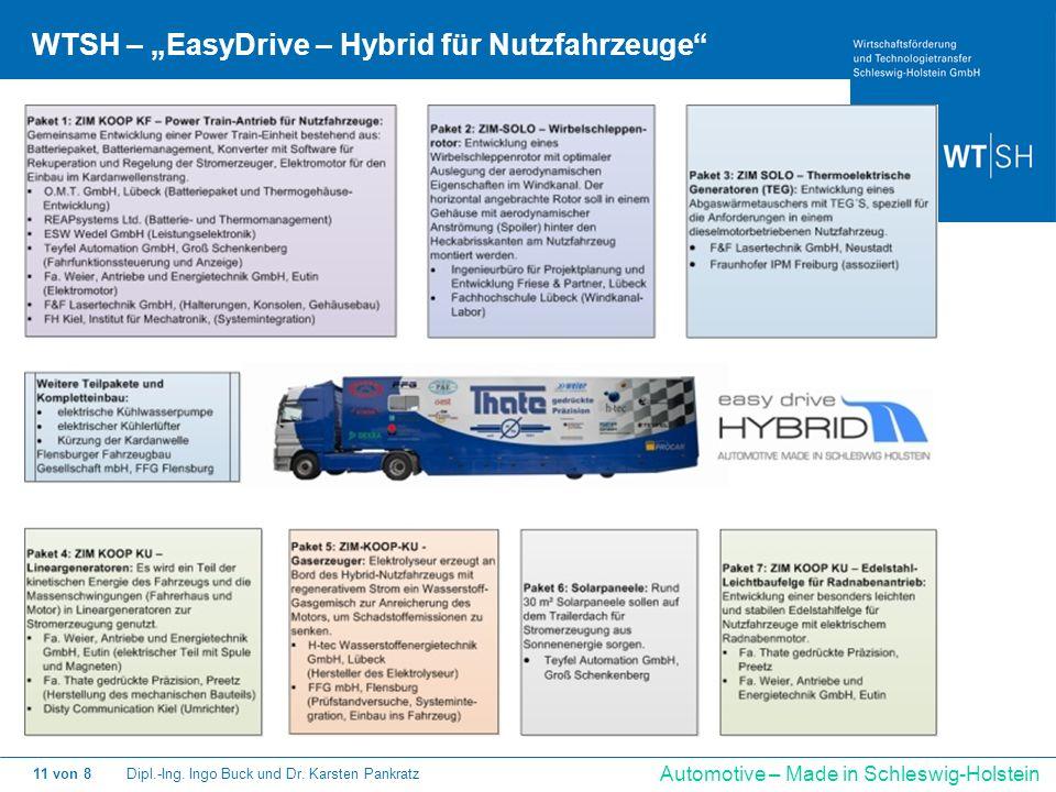 "WTSH – ""EasyDrive – Hybrid für Nutzfahrzeuge"