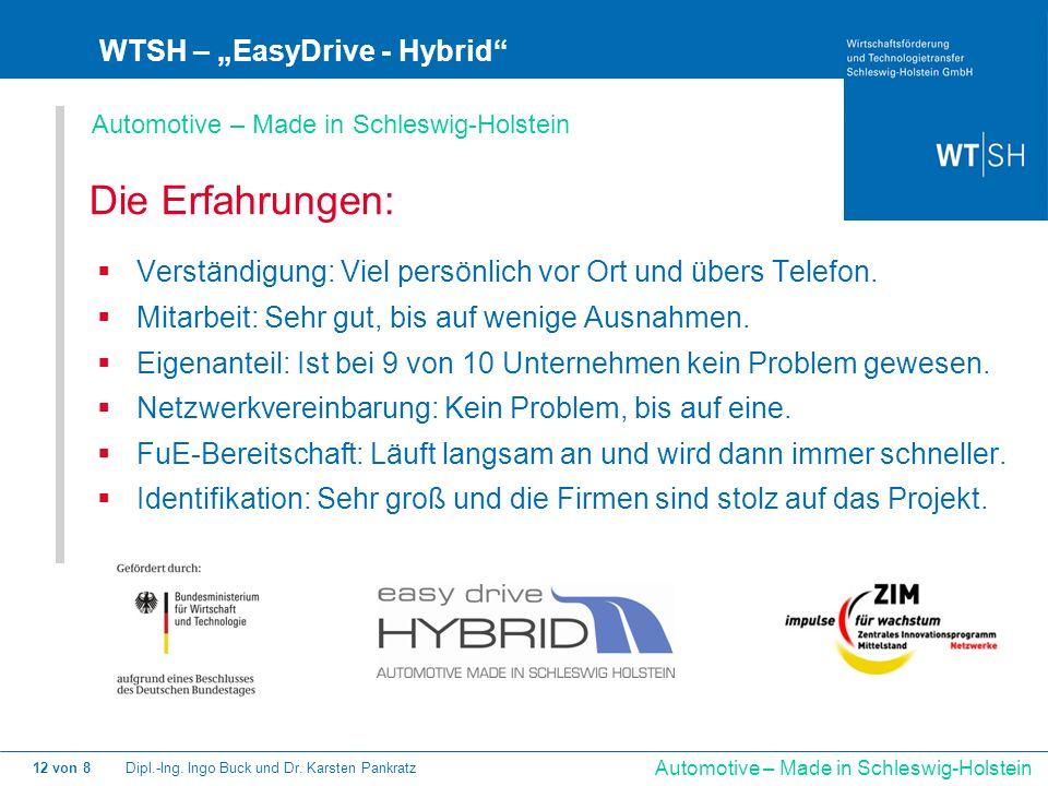 "Die Erfahrungen: WTSH – ""EasyDrive - Hybrid"