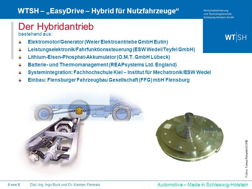 """Der Hybridantrieb WTSH – """"EasyDrive – Hybrid für Nutzfahrzeuge"""