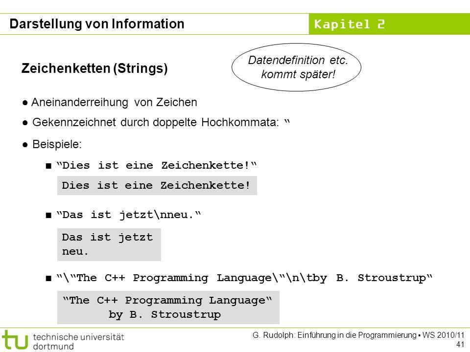 Datendefinition etc. kommt später!