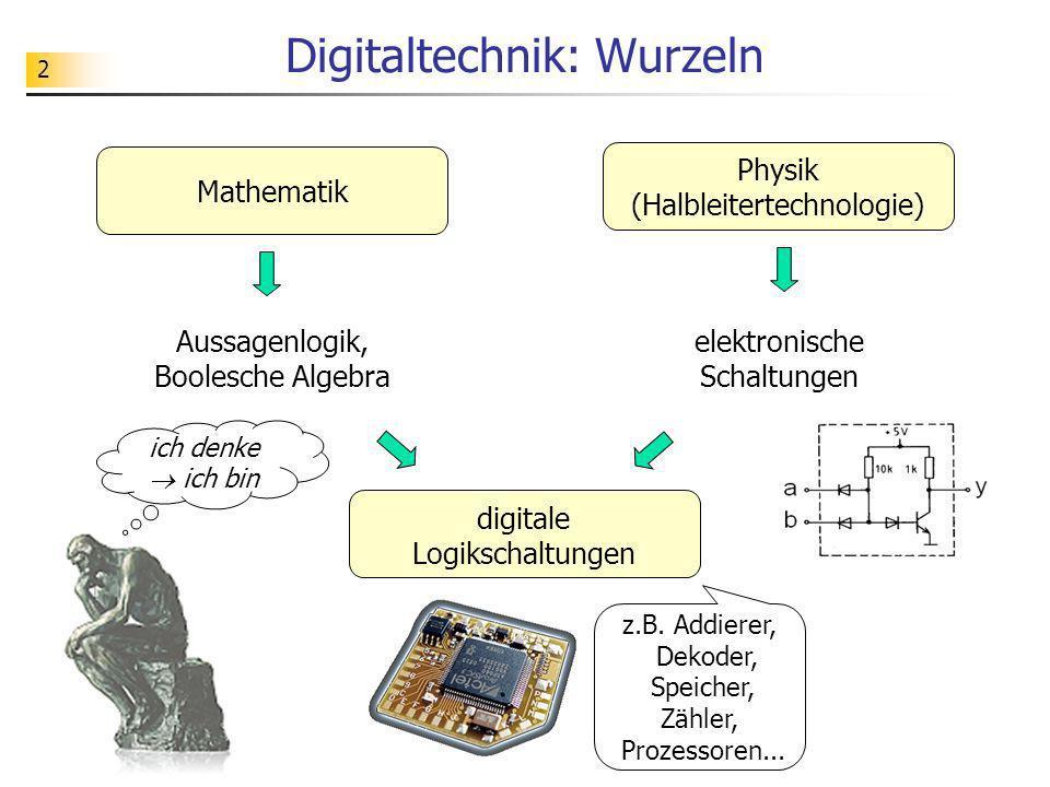 Digitaltechnik: Wurzeln