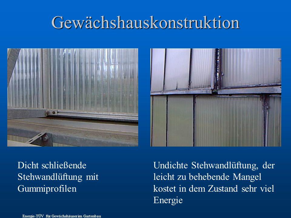Gewächshauskonstruktion