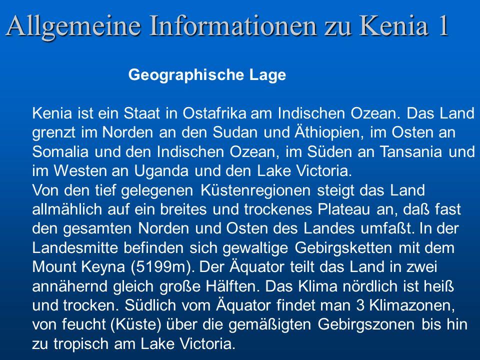Allgemeine Informationen zu Kenia 1