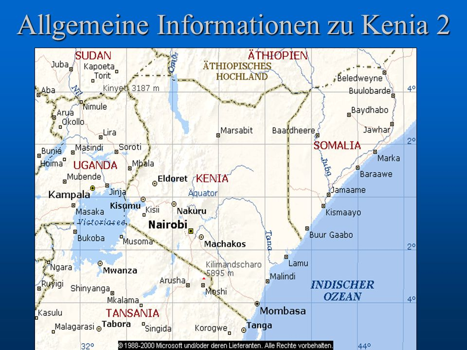 Allgemeine Informationen zu Kenia 2