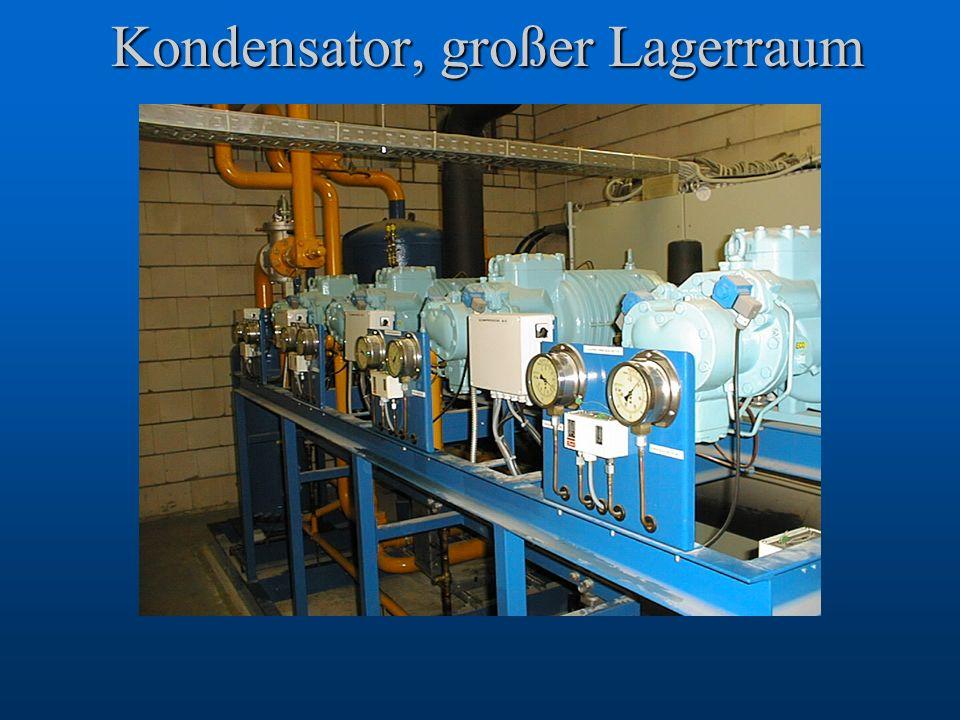 Kondensator, großer Lagerraum