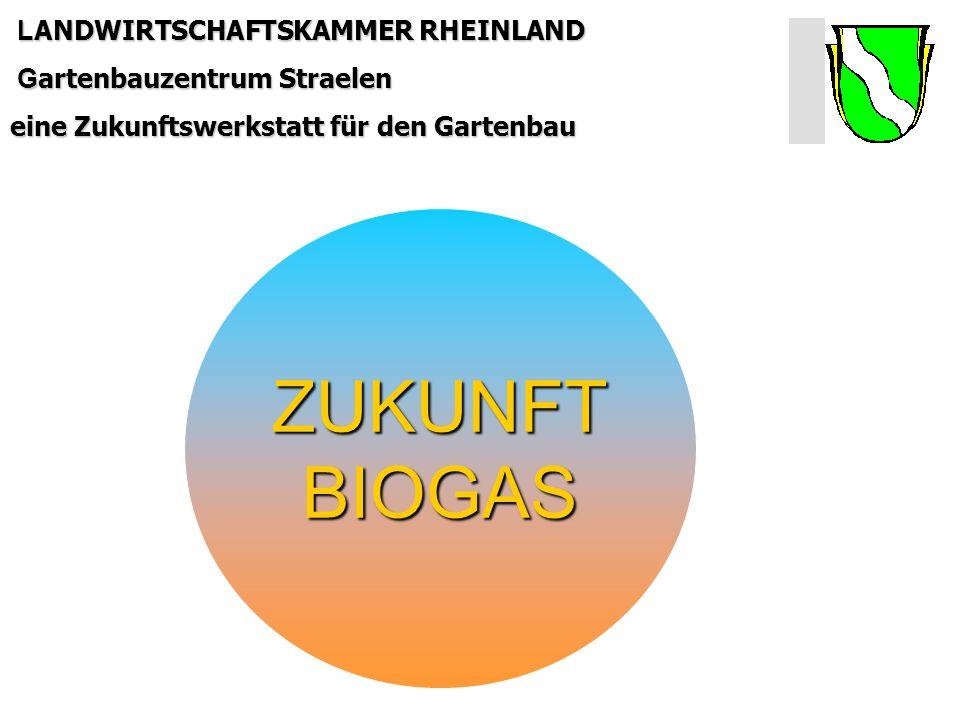 LANDWIRTSCHAFTSKAMMER RHEINLAND Gartenbauzentrum Straelen eine Zukunftswerkstatt für den Gartenbau