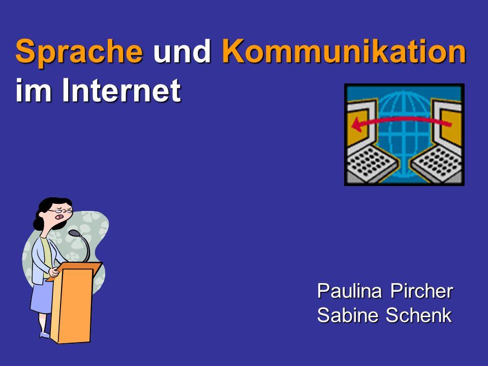 Sprache und Kommunikation im Internet