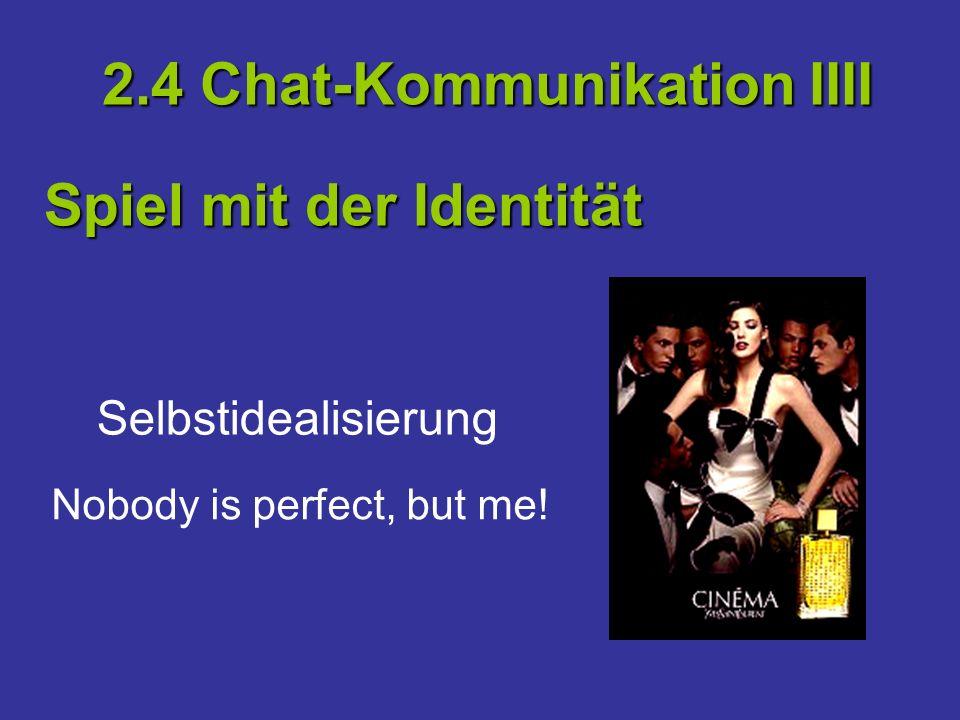 2.4 Chat-Kommunikation IIII