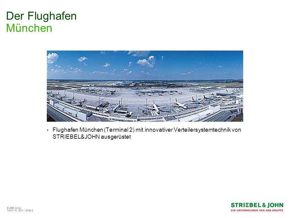 Der Flughafen München Flughafen München (Terminal 2) mit innovativer Verteilersystemtechnik von STRIEBEL&JOHN ausgerüstet.