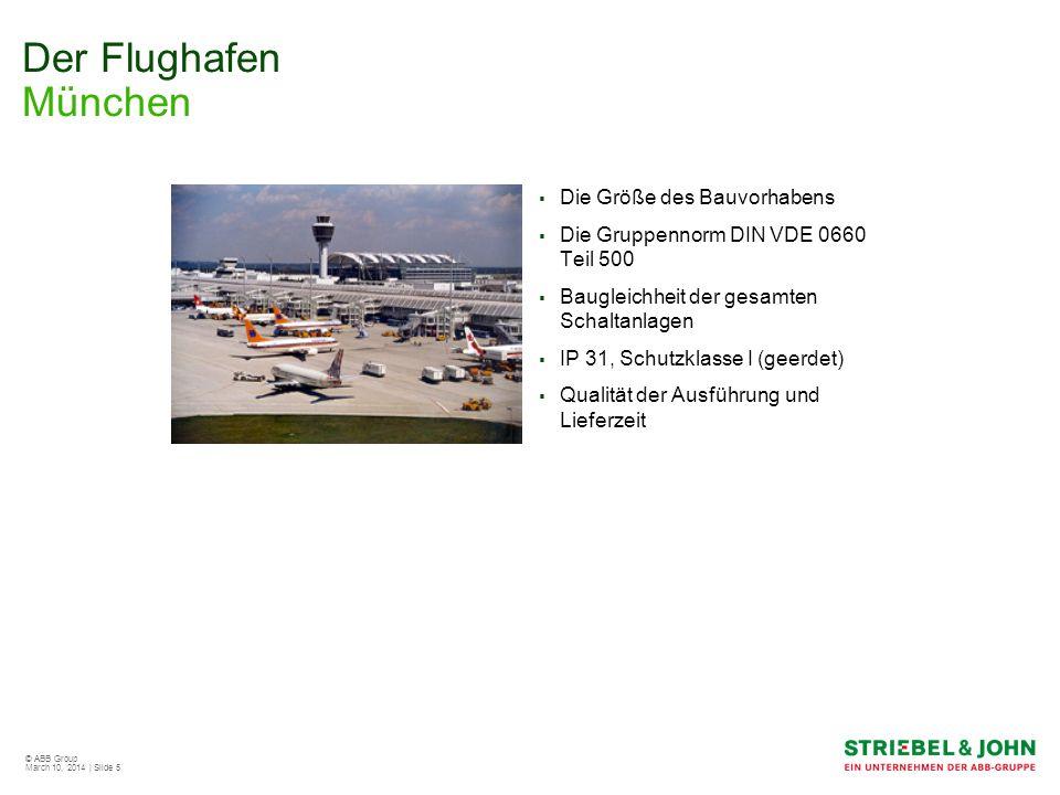 Der Flughafen München Die Größe des Bauvorhabens