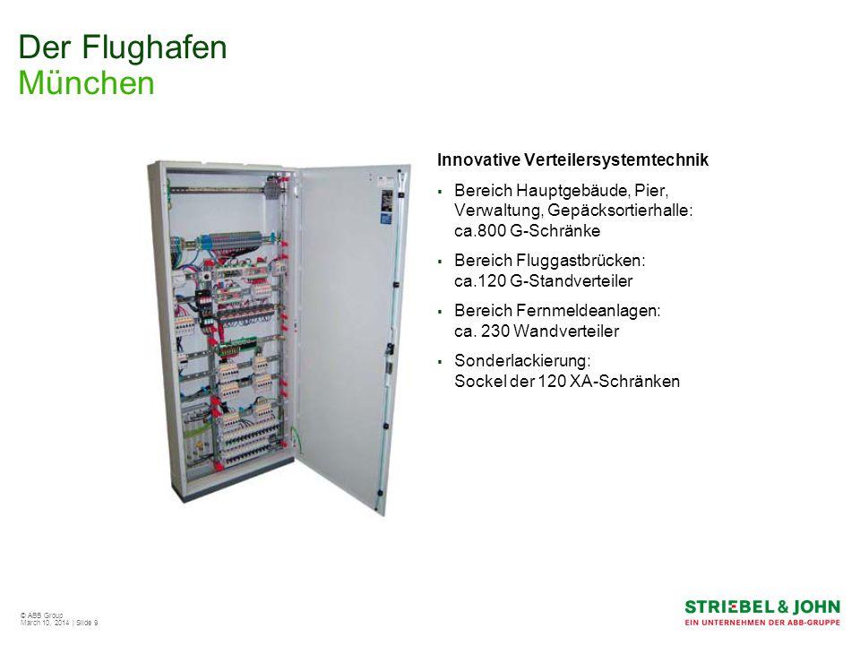 Der Flughafen München Innovative Verteilersystemtechnik