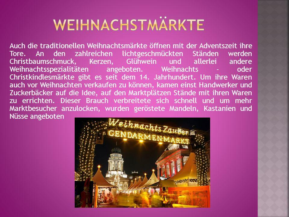 Weihnachstmärkte