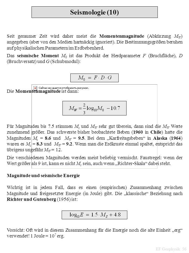 Seismologie (10)
